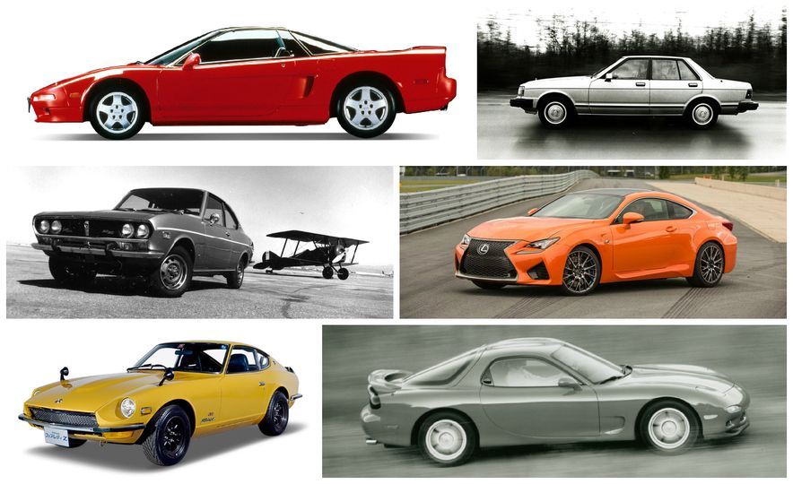 Hai Performance: A Visual History of Japan's Hottest Sports Cars - Slide 1