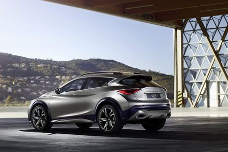 Now You See It: Infiniti QX30 Crossover Concept Revealed