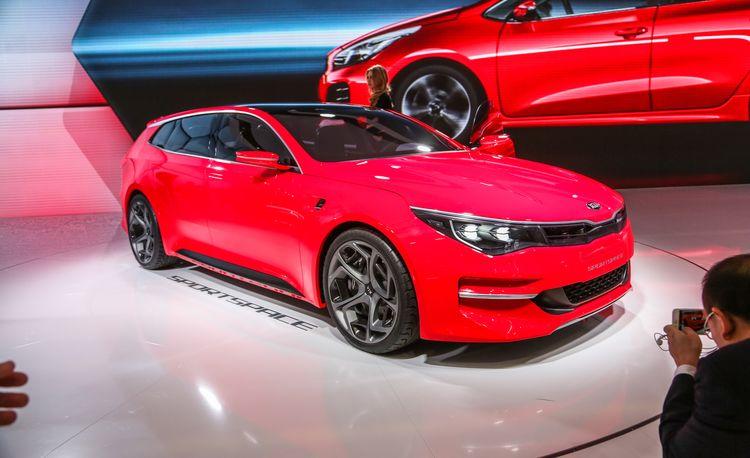 Kia Sportspace Concept: The Optima Wagon of Our Dreams – Auto Shows