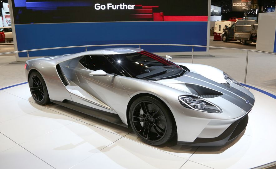 Silver Fox: The New Ford GT Looks Damn Good in Silver and Racing Stripes - Slide 4