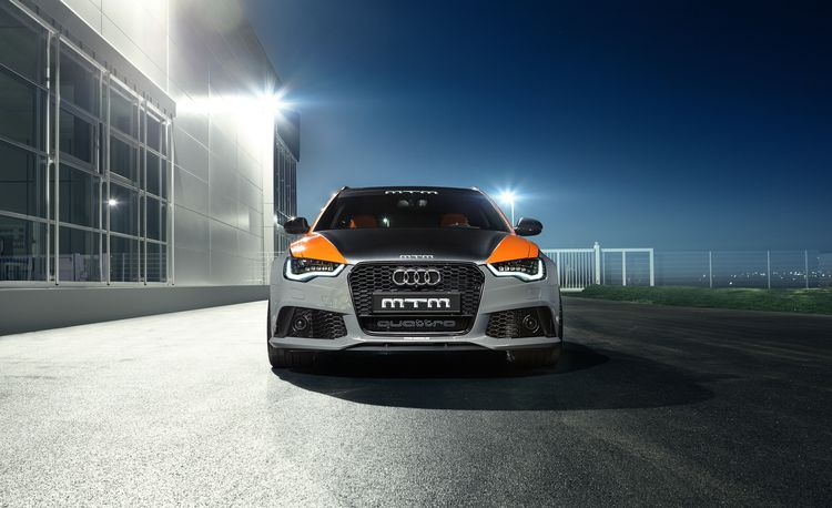 Orange Is the New Fast: MTM Builds a 750-hp Audi RS6 Avant