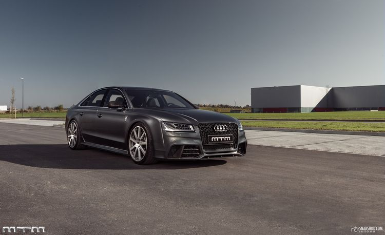 """MTM's Audi S8 """"Talladega"""" Packs Southern Charm—to the Tune of 750 hp"""