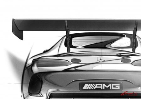Confirmed: M-B's AMG GT To Be GT3'd for Track Duty