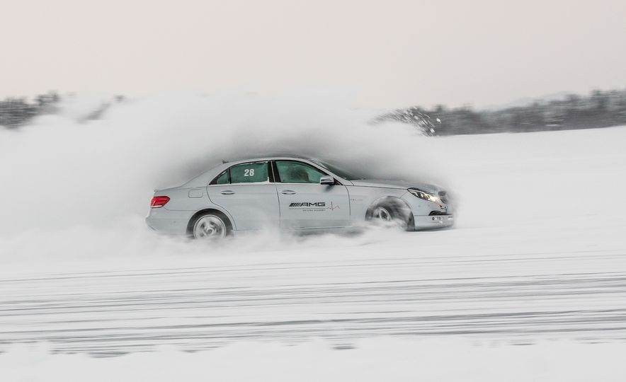 Mercedes-AMG Winter Academy: Driving AMGs in Sweden in the Dead of Winter - Slide 5