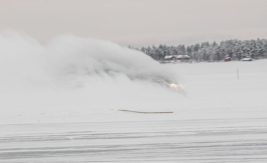 Mercedes-AMG Winter Academy: Driving AMGs in Sweden in the Dead of Winter - Slide 6