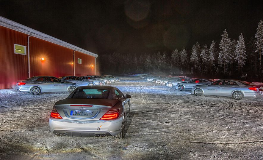 Mercedes-AMG Winter Academy: Driving AMGs in Sweden in the Dead of Winter - Slide 8