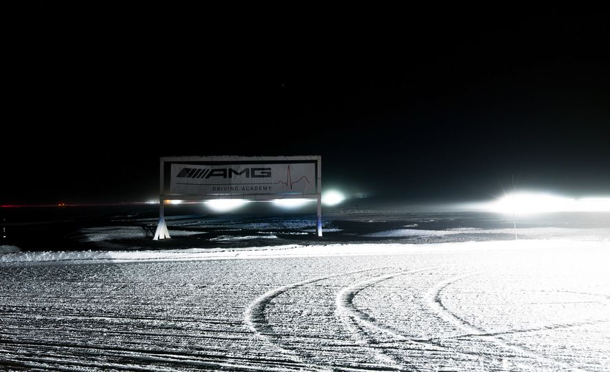 Mercedes-AMG Winter Academy: Driving AMGs in Sweden in the Dead of Winter - Slide 11