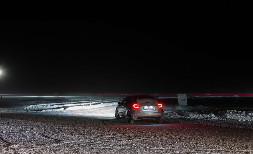 Mercedes-AMG Winter Academy: Driving AMGs in Sweden in the Dead of Winter - Slide 14