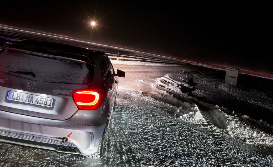 Mercedes-AMG Winter Academy: Driving AMGs in Sweden in the Dead of Winter - Slide 15