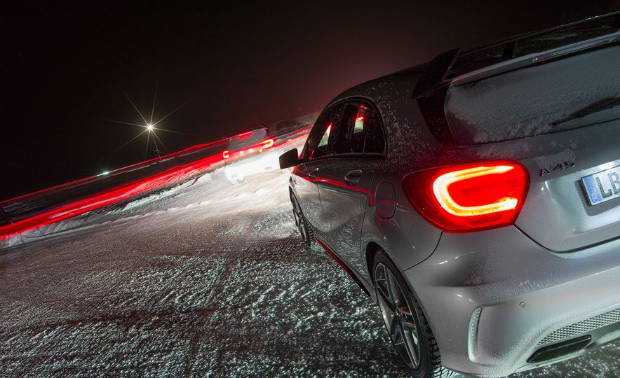 Mercedes-AMG Winter Academy: Driving AMGs in Sweden in the Dead of Winter - Slide 16