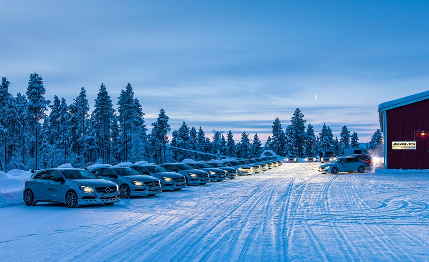 Mercedes-AMG Winter Academy: Driving AMGs in Sweden in the Dead of Winter - Slide 22