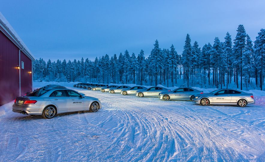 Mercedes-AMG Winter Academy: Driving AMGs in Sweden in the Dead of Winter - Slide 23