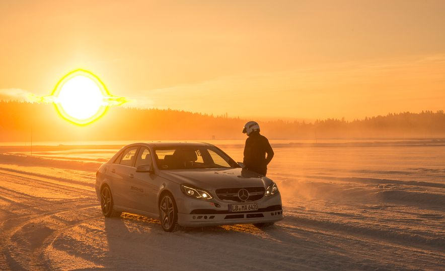 Mercedes-AMG Winter Academy: Driving AMGs in Sweden in the Dead of Winter - Slide 26