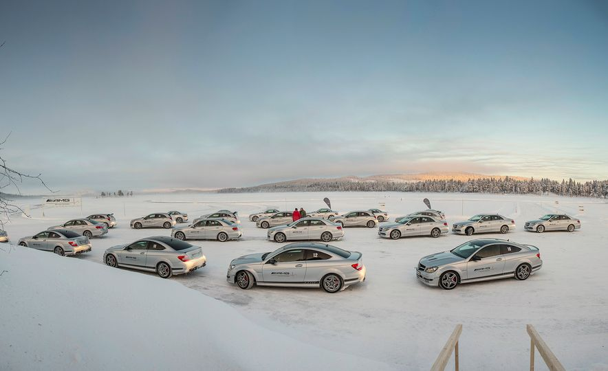 Mercedes-AMG Winter Academy: Driving AMGs in Sweden in the Dead of Winter - Slide 27