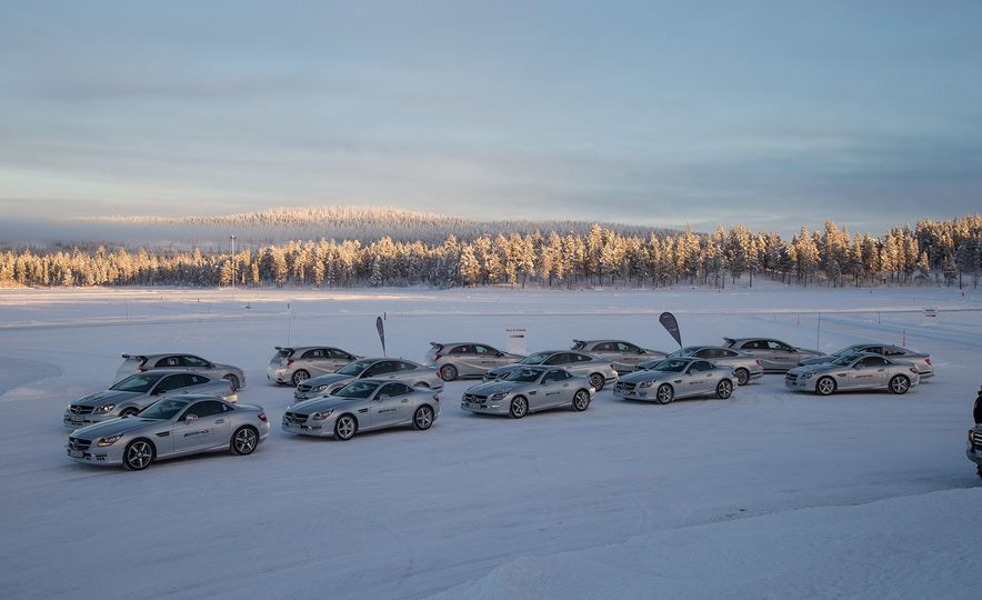 Mercedes-AMG Winter Academy: Driving AMGs in Sweden in the Dead of Winter - Slide 33