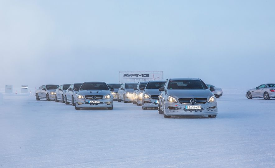 Mercedes-AMG Winter Academy: Driving AMGs in Sweden in the Dead of Winter - Slide 34