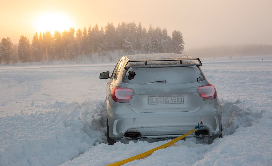 Mercedes-AMG Winter Academy: Driving AMGs in Sweden in the Dead of Winter - Slide 39
