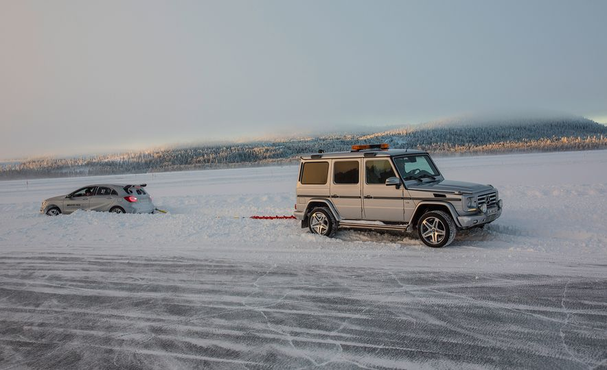 Mercedes-AMG Winter Academy: Driving AMGs in Sweden in the Dead of Winter - Slide 40