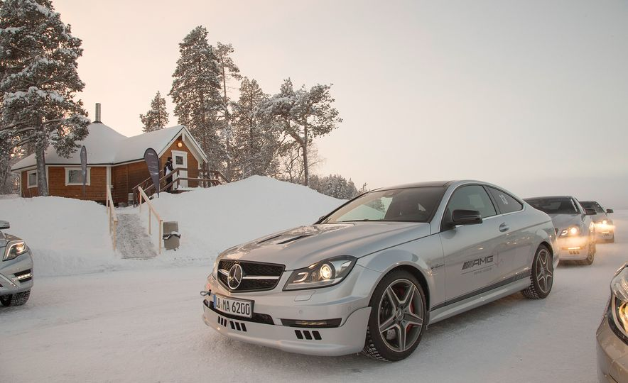 Mercedes-AMG Winter Academy: Driving AMGs in Sweden in the Dead of Winter - Slide 42