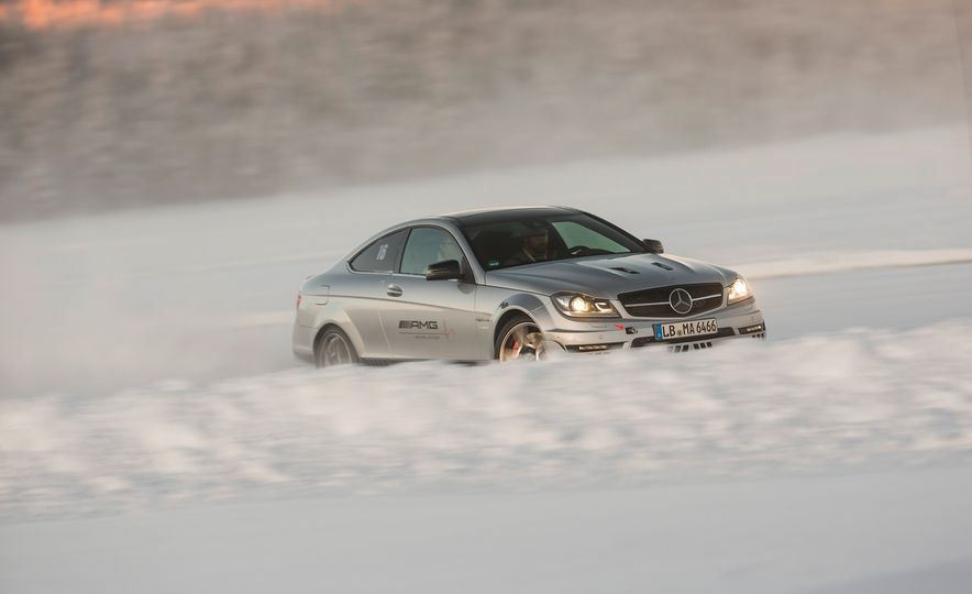 Mercedes-AMG Winter Academy: Driving AMGs in Sweden in the Dead of Winter - Slide 45