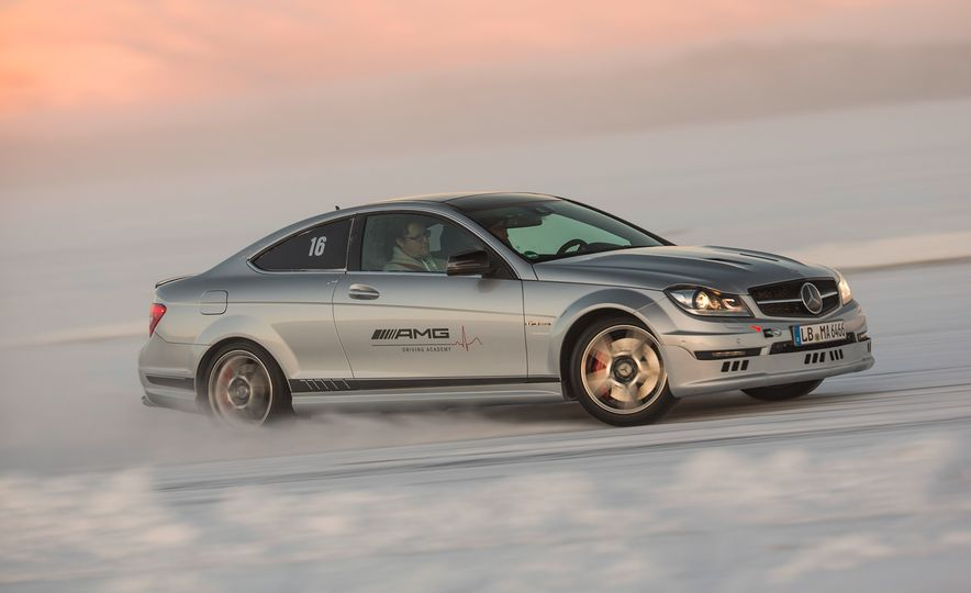 Mercedes-AMG Winter Academy: Driving AMGs in Sweden in the Dead of Winter - Slide 46