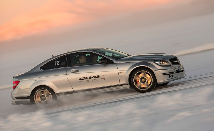 Mercedes-AMG Winter Academy: Driving AMGs in Sweden in the Dead of Winter - Slide 47