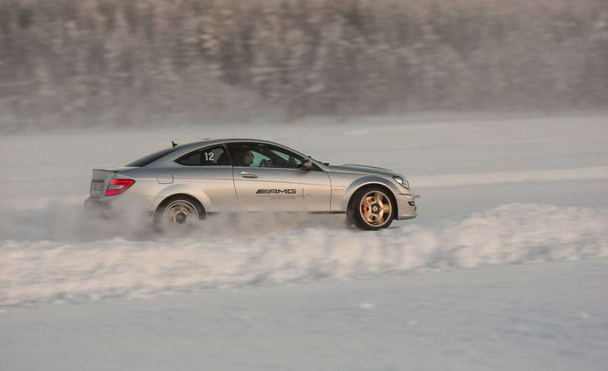 Mercedes-AMG Winter Academy: Driving AMGs in Sweden in the Dead of Winter - Slide 48