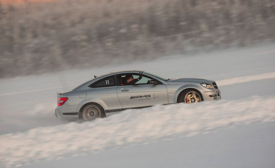 Mercedes-AMG Winter Academy: Driving AMGs in Sweden in the Dead of Winter - Slide 50