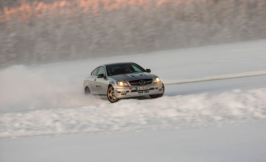 Mercedes-AMG Winter Academy: Driving AMGs in Sweden in the Dead of Winter - Slide 51
