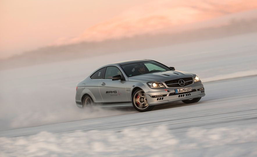 Mercedes-AMG Winter Academy: Driving AMGs in Sweden in the Dead of Winter - Slide 52