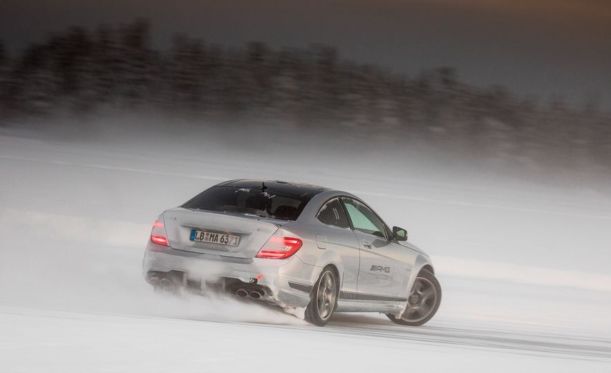 Mercedes-AMG Winter Academy: Driving AMGs in Sweden in the Dead of Winter - Slide 53