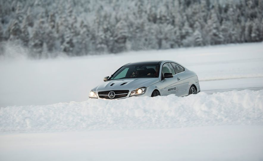 Mercedes-AMG Winter Academy: Driving AMGs in Sweden in the Dead of Winter - Slide 54