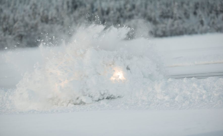 Mercedes-AMG Winter Academy: Driving AMGs in Sweden in the Dead of Winter - Slide 56