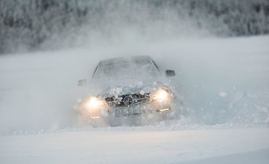 Mercedes-AMG Winter Academy: Driving AMGs in Sweden in the Dead of Winter - Slide 58