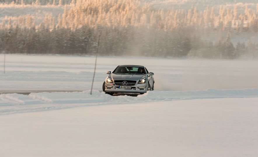 Mercedes-AMG Winter Academy: Driving AMGs in Sweden in the Dead of Winter - Slide 59