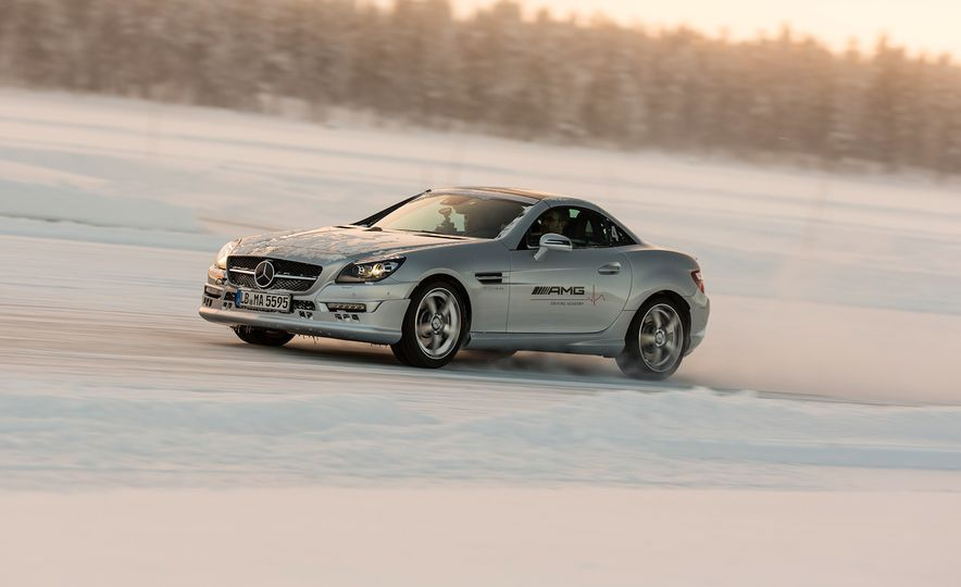 Mercedes-AMG Winter Academy: Driving AMGs in Sweden in the Dead of Winter - Slide 60