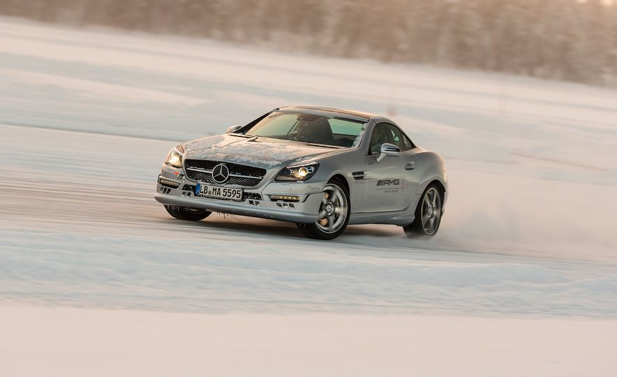 Mercedes-AMG Winter Academy: Driving AMGs in Sweden in the Dead of Winter - Slide 61