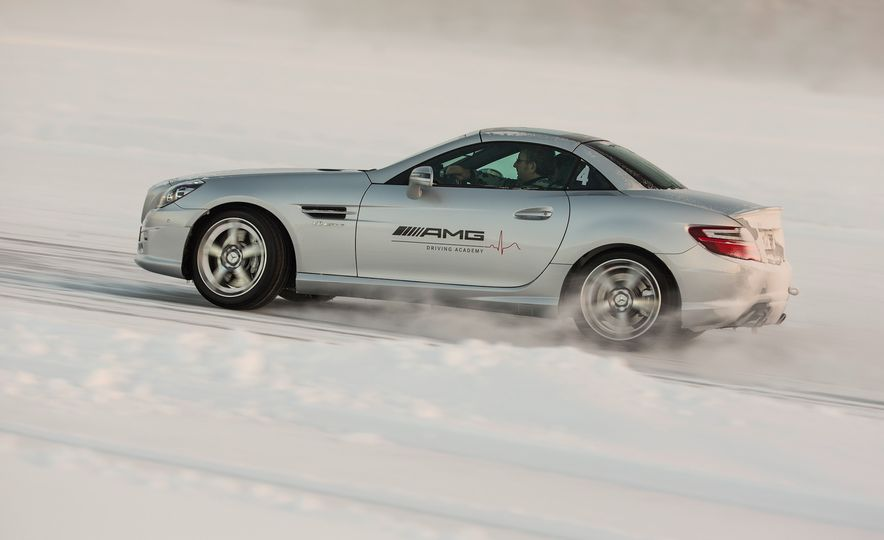 Mercedes-AMG Winter Academy: Driving AMGs in Sweden in the Dead of Winter - Slide 62