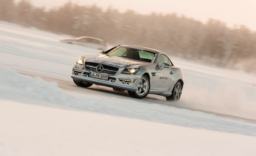 Mercedes-AMG Winter Academy: Driving AMGs in Sweden in the Dead of Winter - Slide 63