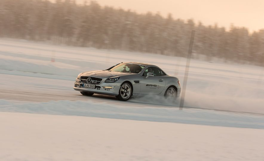Mercedes-AMG Winter Academy: Driving AMGs in Sweden in the Dead of Winter - Slide 64