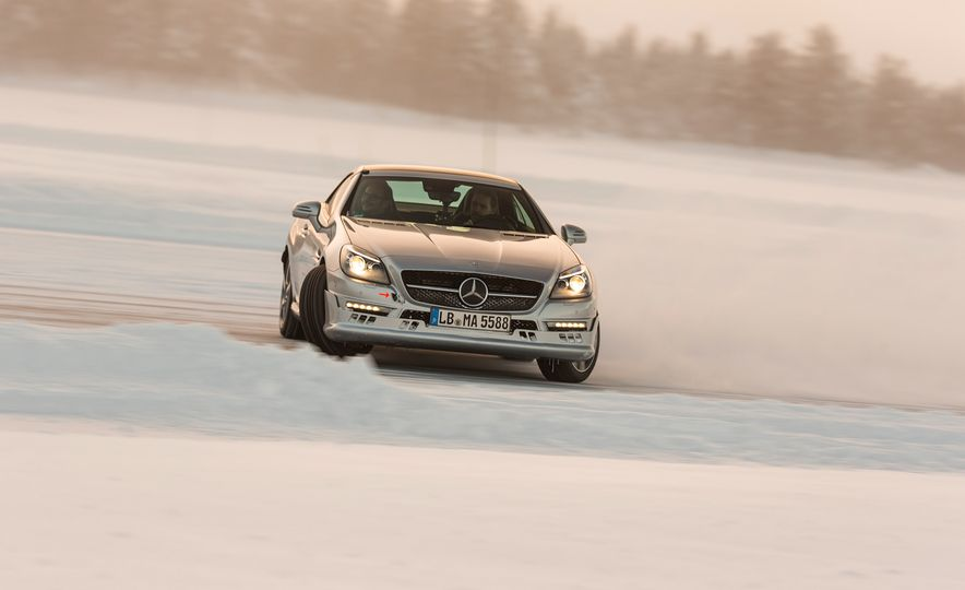 Mercedes-AMG Winter Academy: Driving AMGs in Sweden in the Dead of Winter - Slide 65
