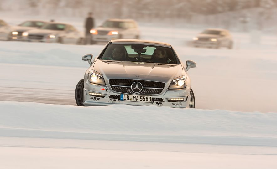 Mercedes-AMG Winter Academy: Driving AMGs in Sweden in the Dead of Winter - Slide 66