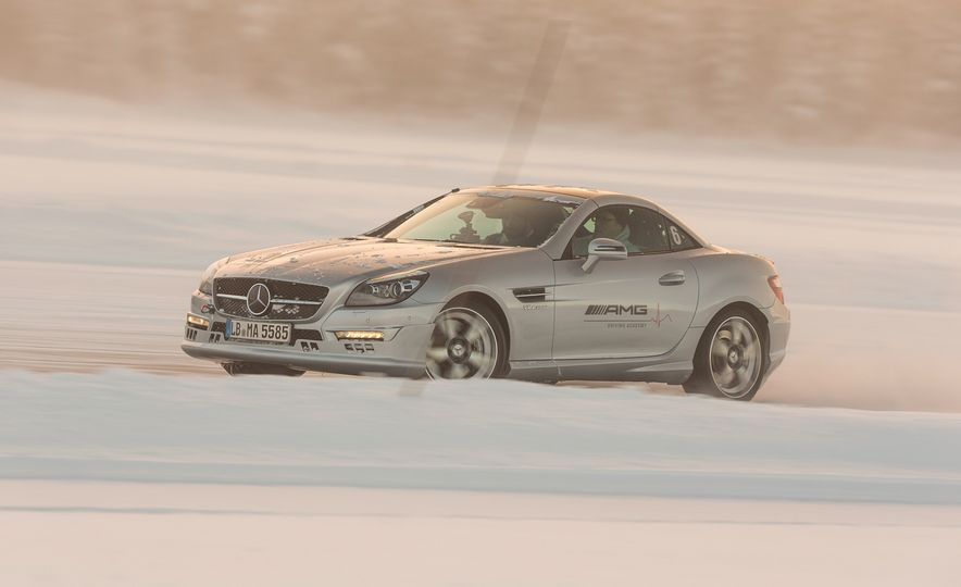 Mercedes-AMG Winter Academy: Driving AMGs in Sweden in the Dead of Winter - Slide 68