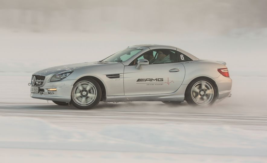 Mercedes-AMG Winter Academy: Driving AMGs in Sweden in the Dead of Winter - Slide 70