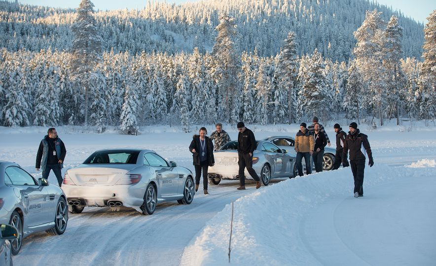 Mercedes-AMG Winter Academy: Driving AMGs in Sweden in the Dead of Winter - Slide 74