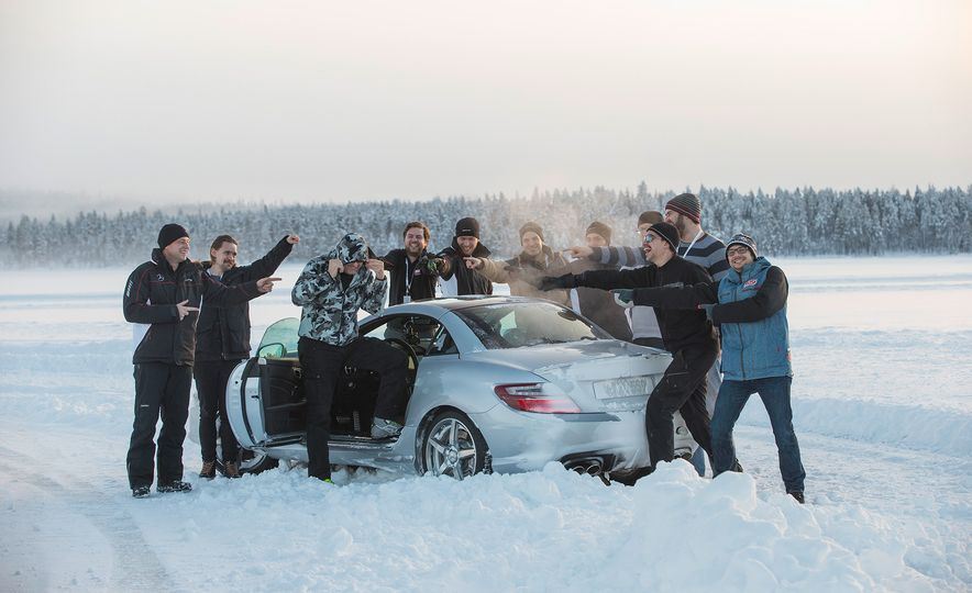 Mercedes-AMG Winter Academy: Driving AMGs in Sweden in the Dead of Winter - Slide 75