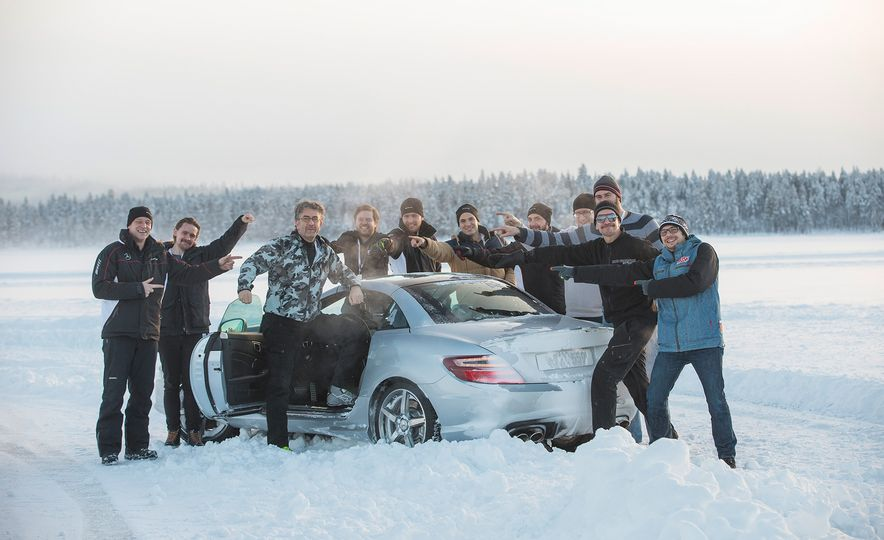 Mercedes-AMG Winter Academy: Driving AMGs in Sweden in the Dead of Winter - Slide 76