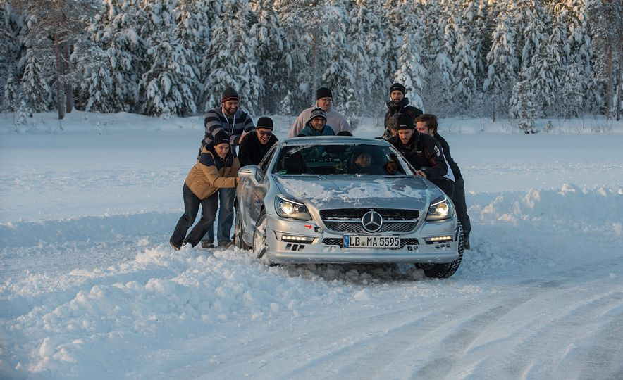 Mercedes-AMG Winter Academy: Driving AMGs in Sweden in the Dead of Winter - Slide 77
