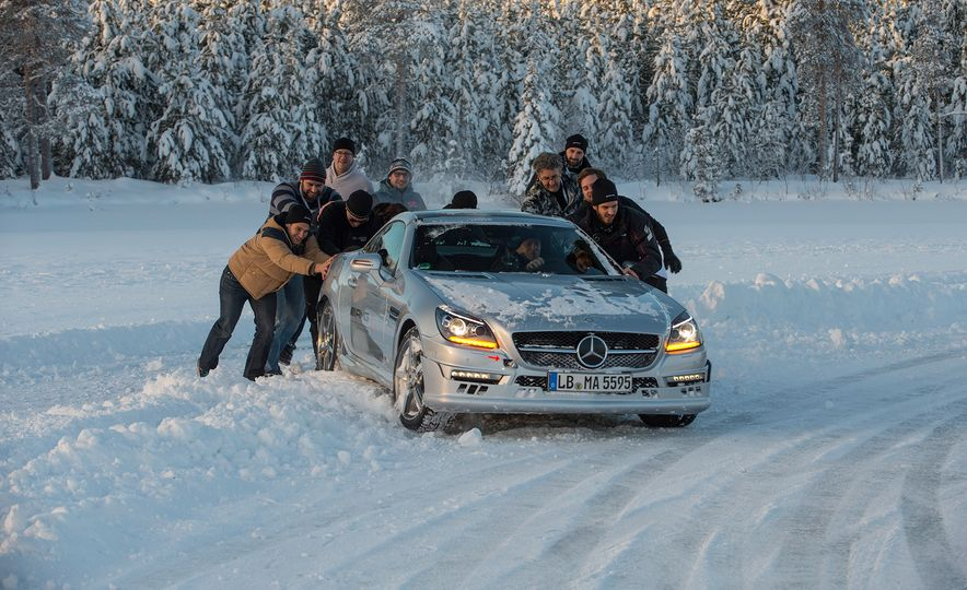 Mercedes-AMG Winter Academy: Driving AMGs in Sweden in the Dead of Winter - Slide 78