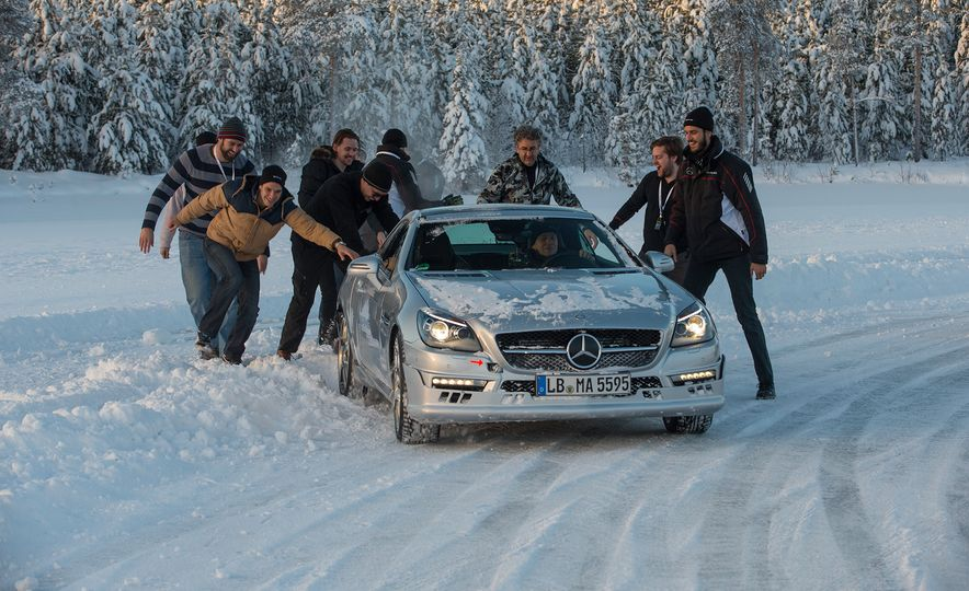 Mercedes-AMG Winter Academy: Driving AMGs in Sweden in the Dead of Winter - Slide 79
